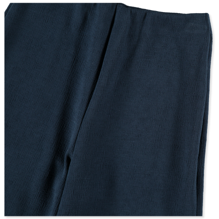 Crinkled Canvas Trouser