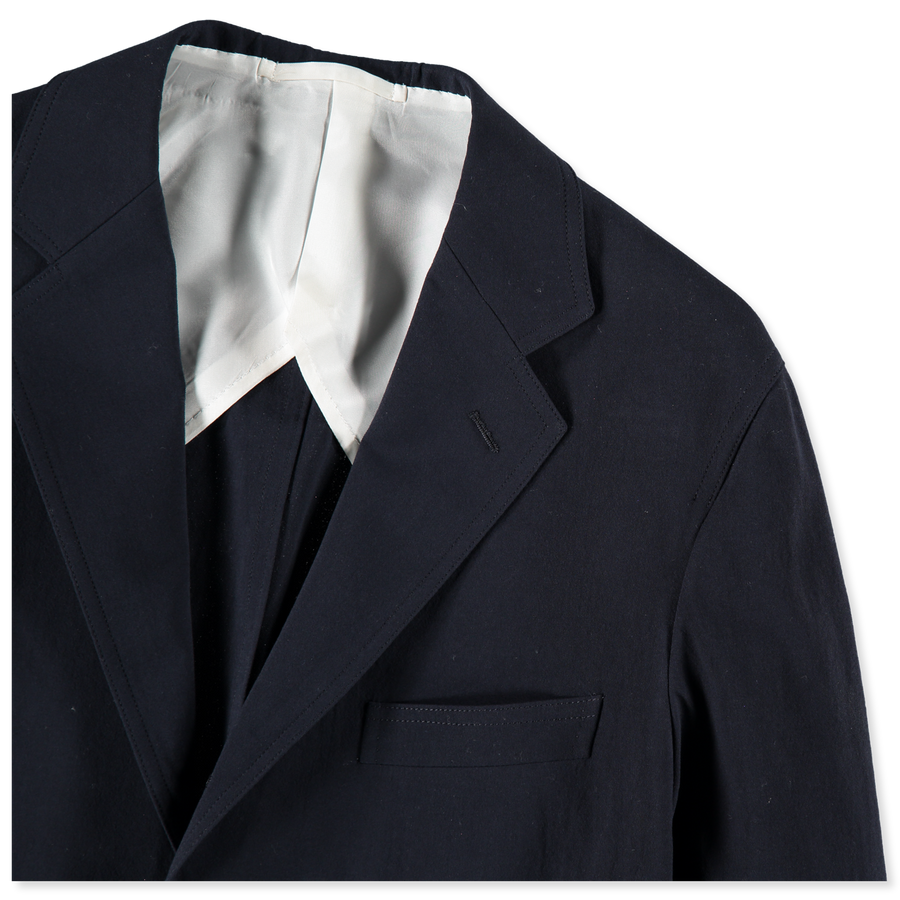 Cotton Crepe Suit Jacket