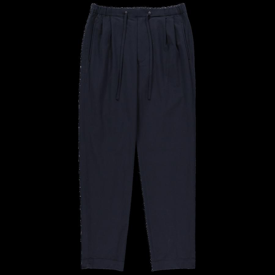 Cotton Crepe Easy Suit Trouser