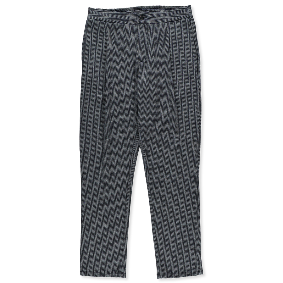 Pleated Bicolor HB Trouser