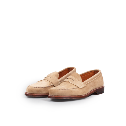 Unlined Suede Leisure Loafer