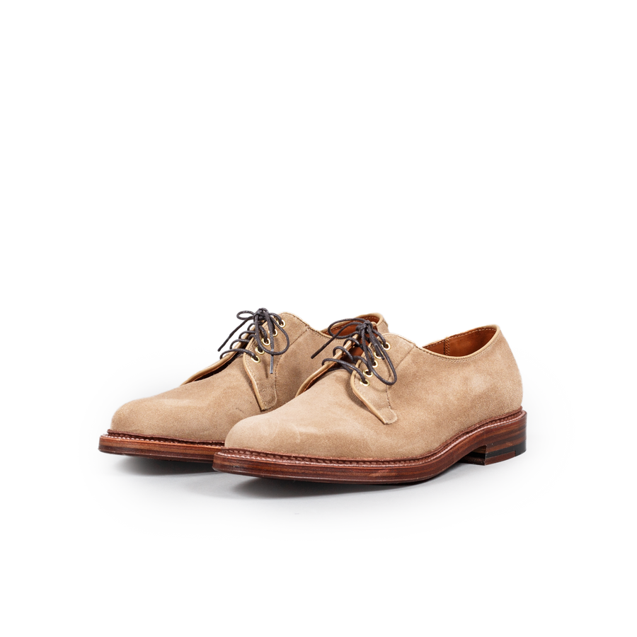 Plain Toe Suede Blutcher