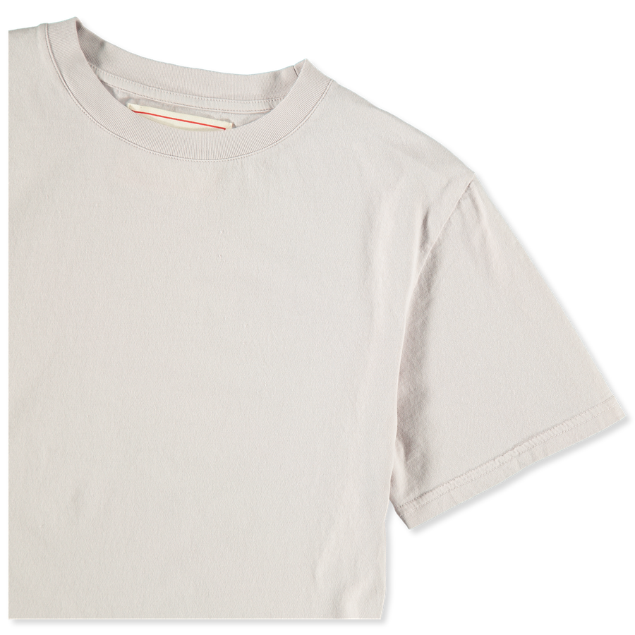 Luz Cotton T-Shirt Pale Lilac