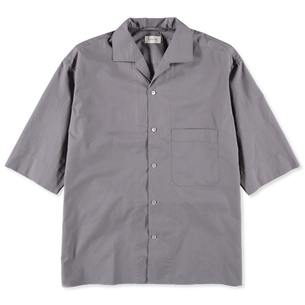 Convertible Collar S/S Shirt