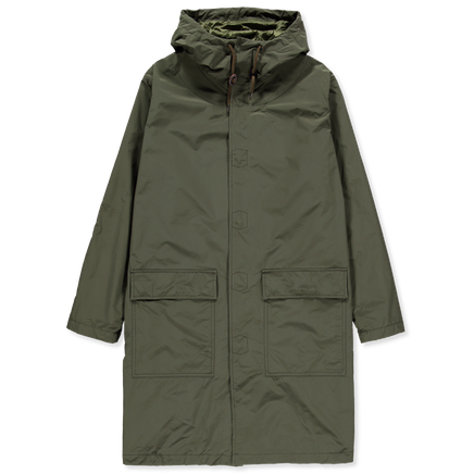 Popper Nylon Parka
