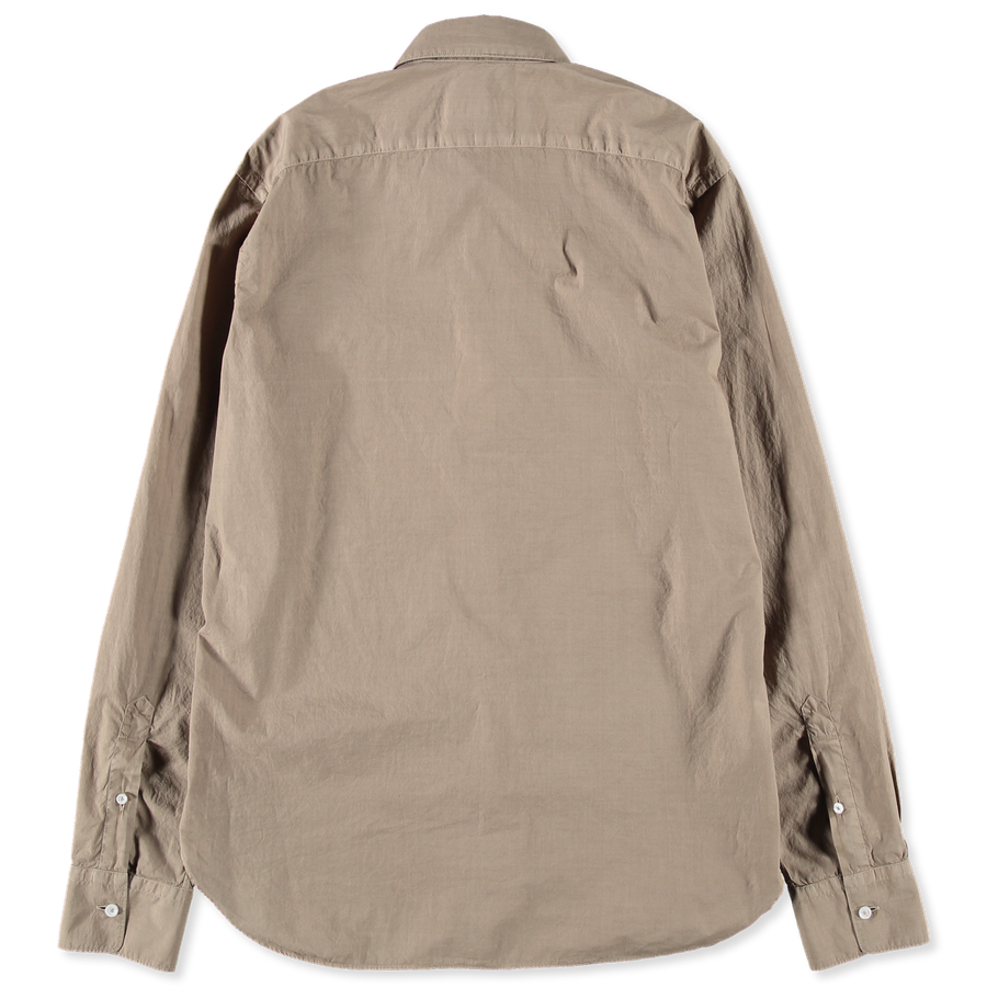 Garment Dyed Poplin Shirt