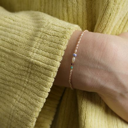 Rice&Shine Bracelet Pink Mist