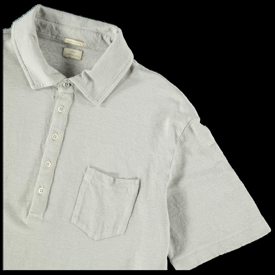 S/S Linen Polo Shirt