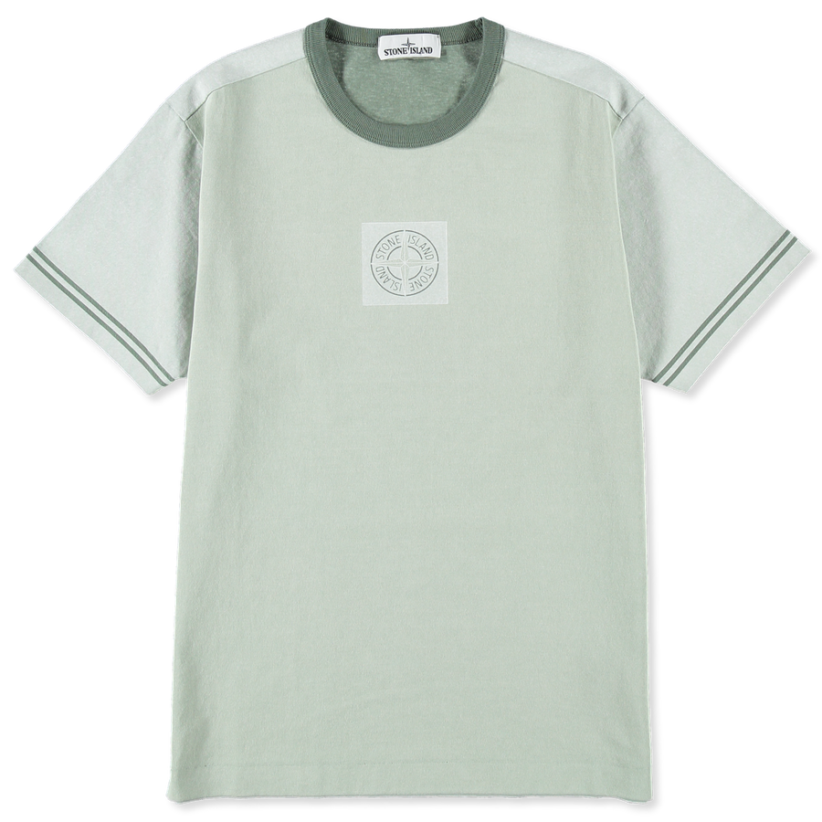 701523335 V0055 Plated Print Logo T-Shirt