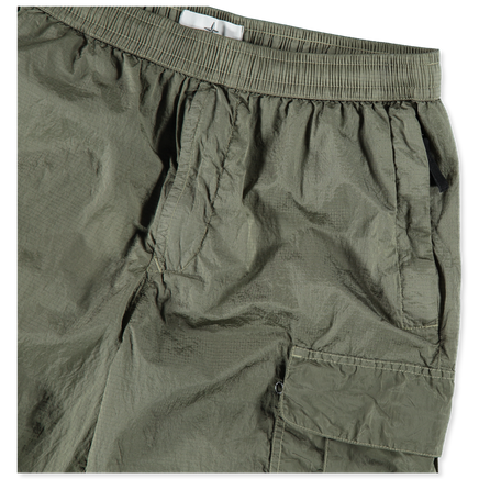 7015L1017 V0055 Nylon Metal Cargo Shorts