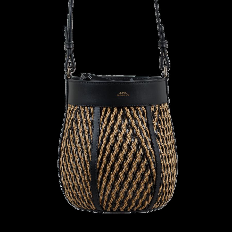 Garance Braided Bucket Bag