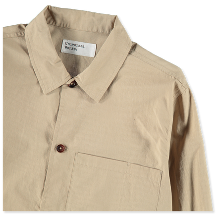Fine Ripstop Uniform Shirt
