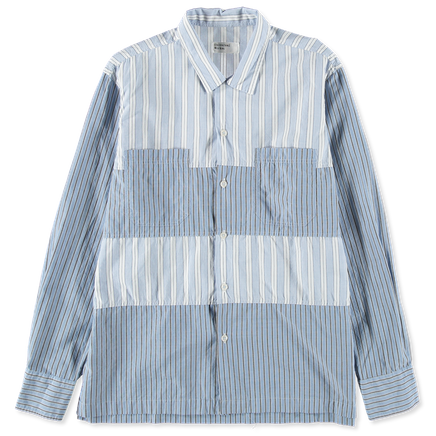 Mix Stripe Panel Shirt