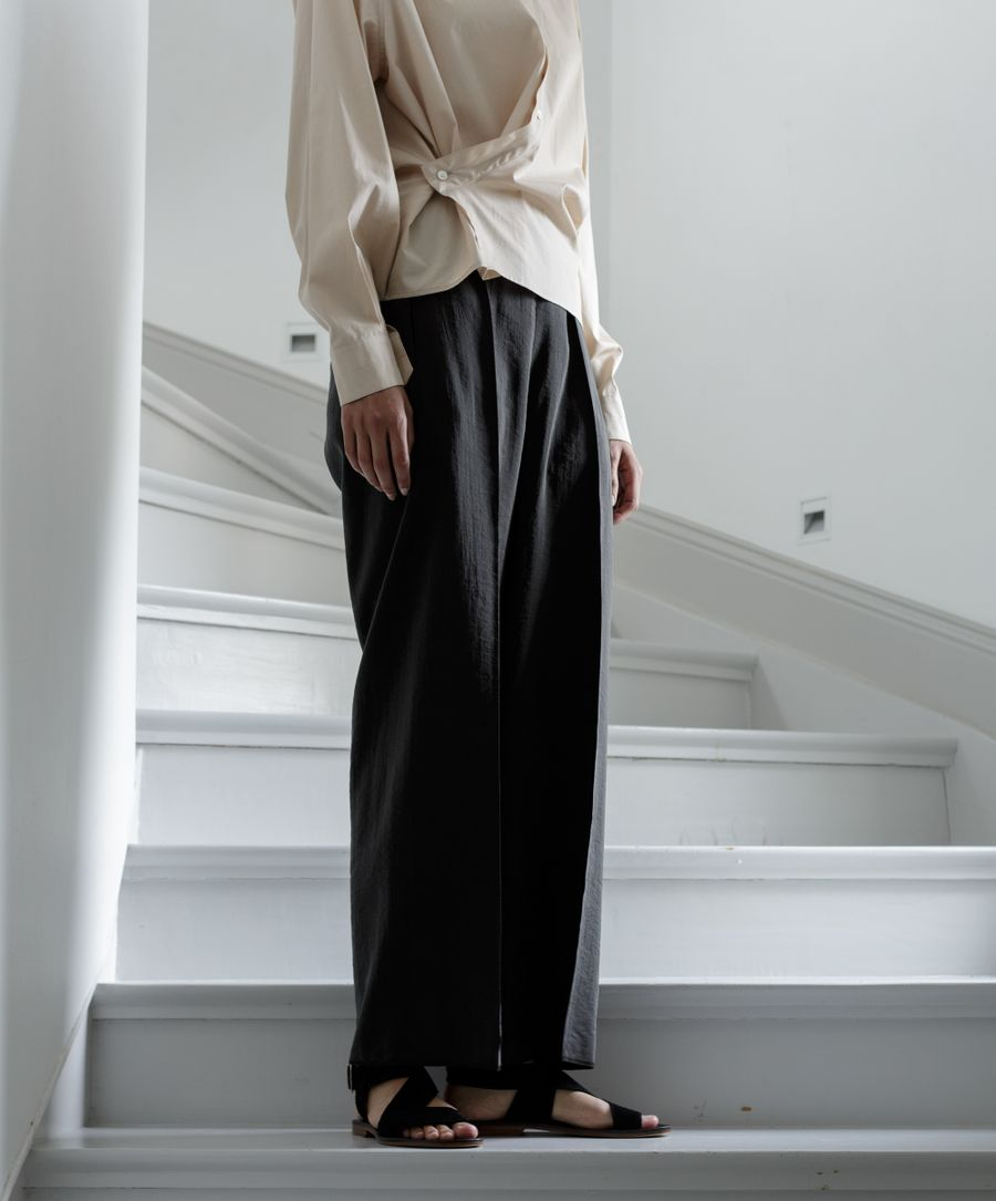 Cropped Elasticated Pant