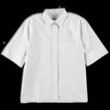 Stripe Pocket Swing Shirt