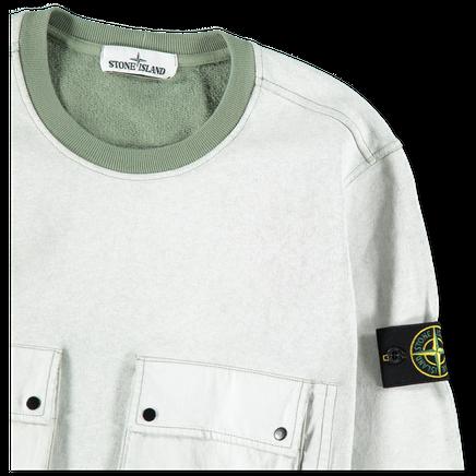 701563565 V0055 Plated Multi Pocket Sweatshirt