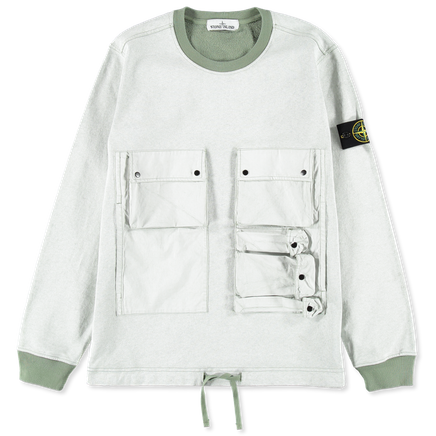 701563565 V0055 Plated Multi Pocket Sweatshirt