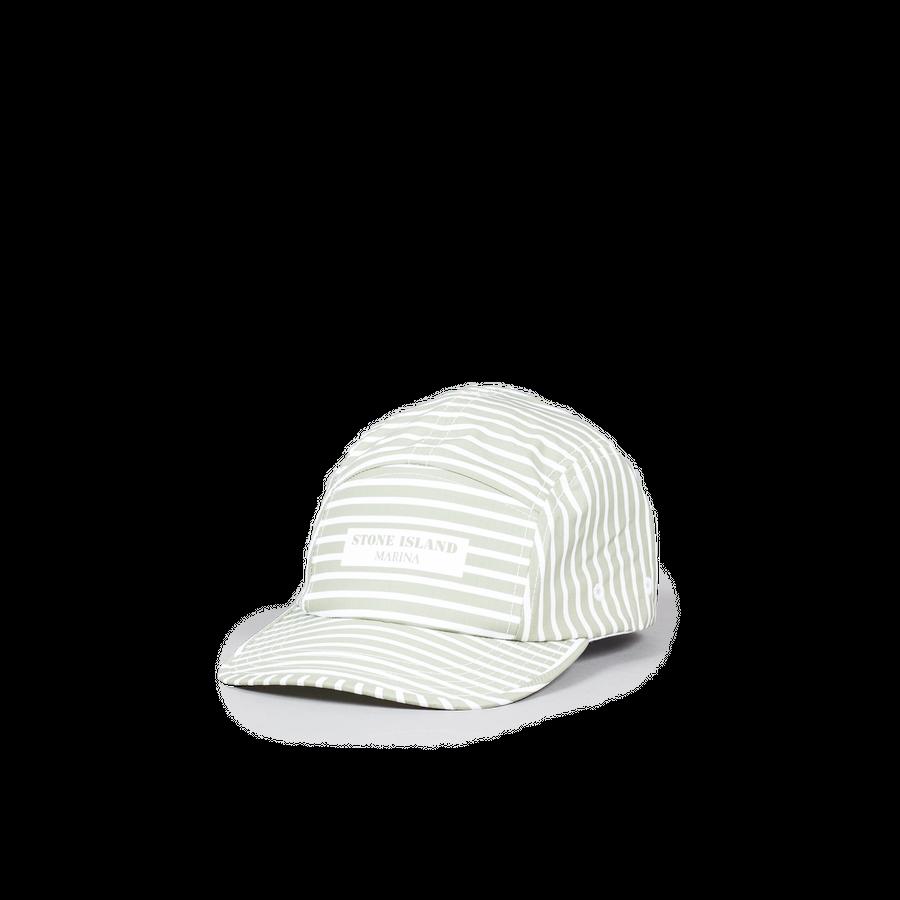 Marina Stripe Camp Cap-7015993XC-v0055