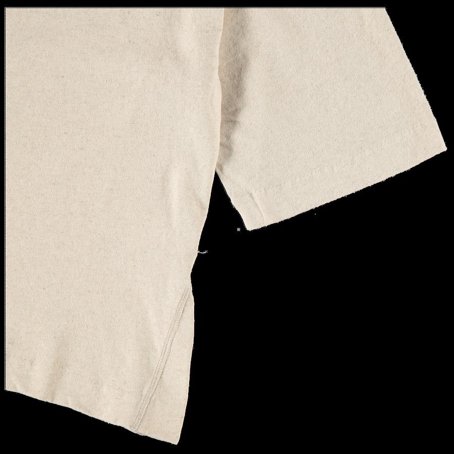 A Line Cotton Linen Tee