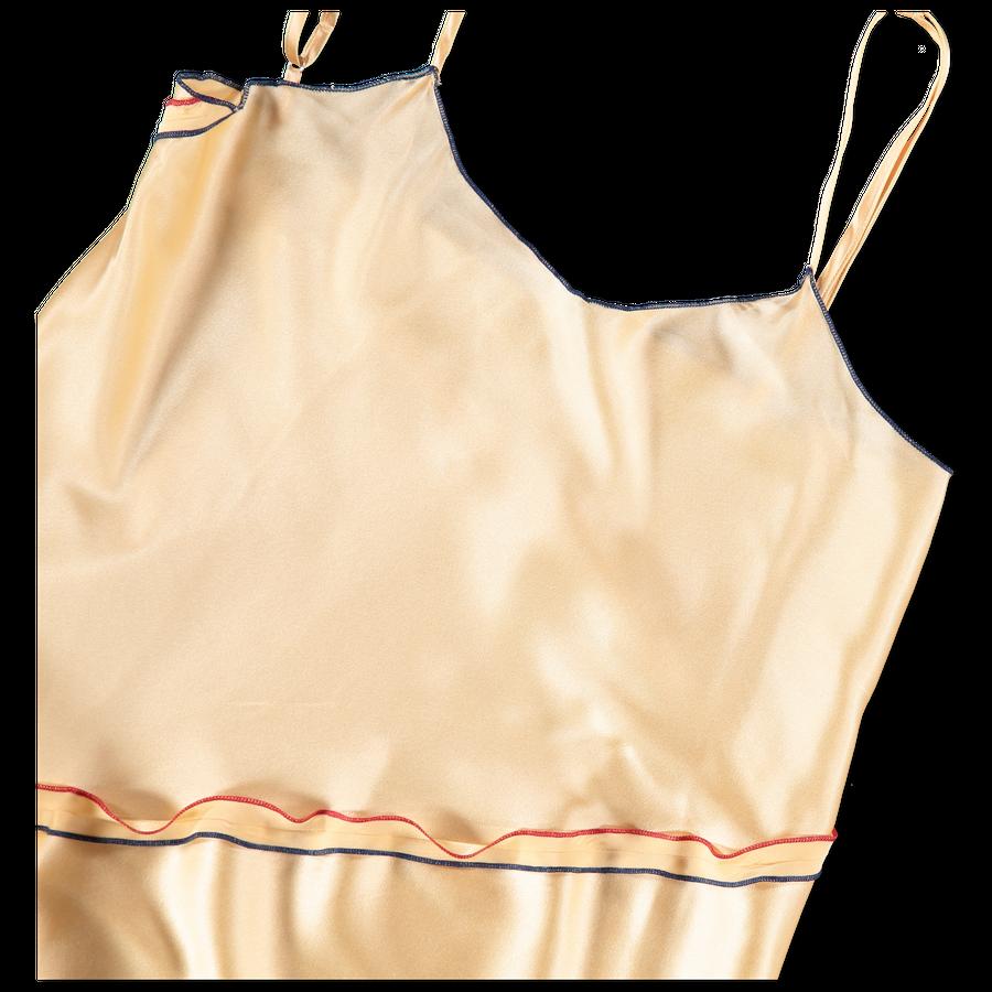 Gene Dress Silk Satin