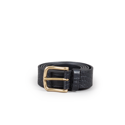 Crocodile Pattern Belt