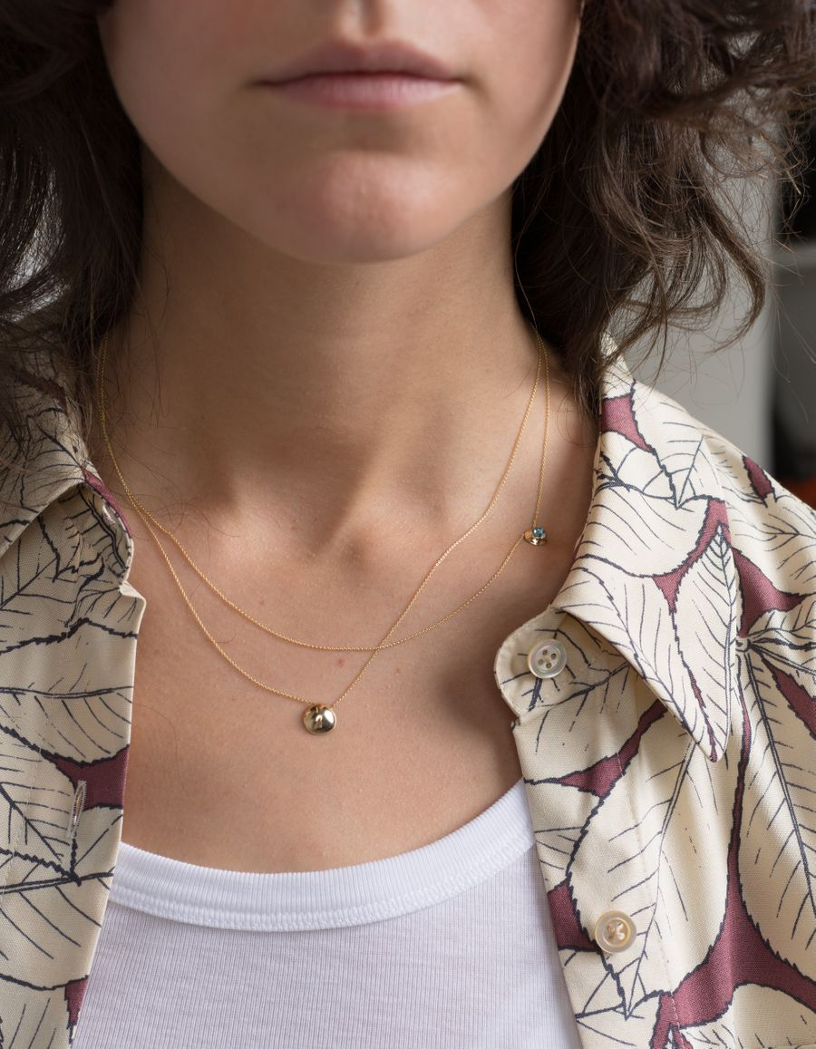 Adrian Necklace 14k Gold