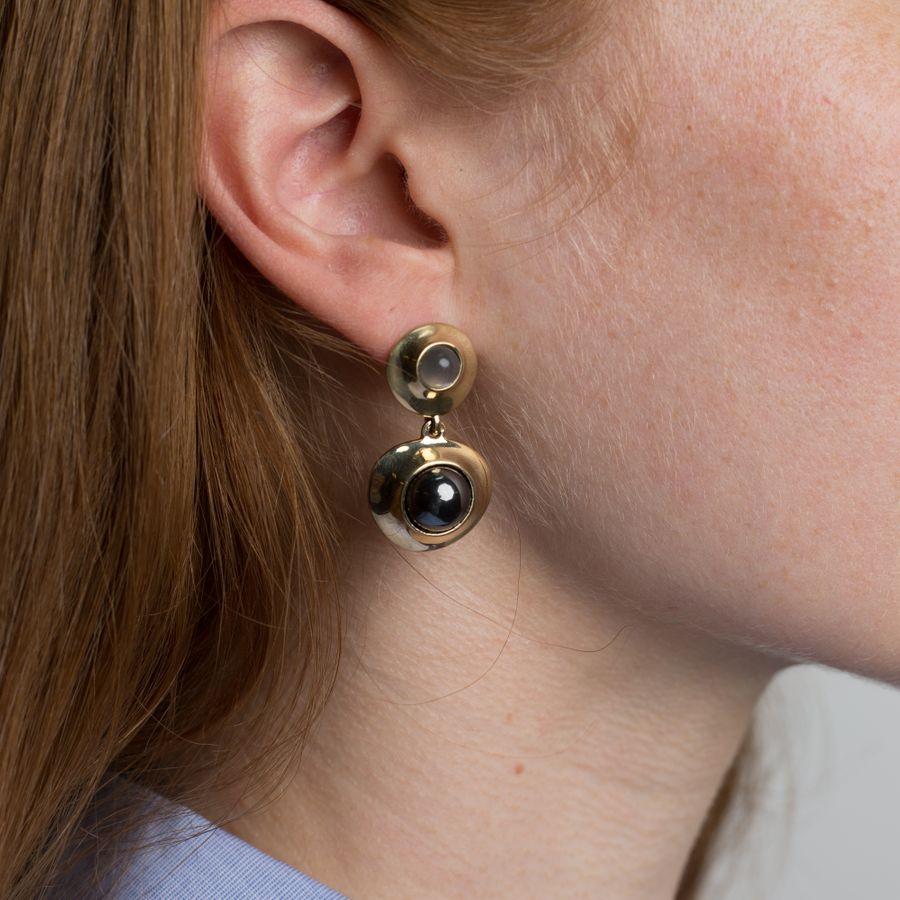Colet Earrings Moonstone