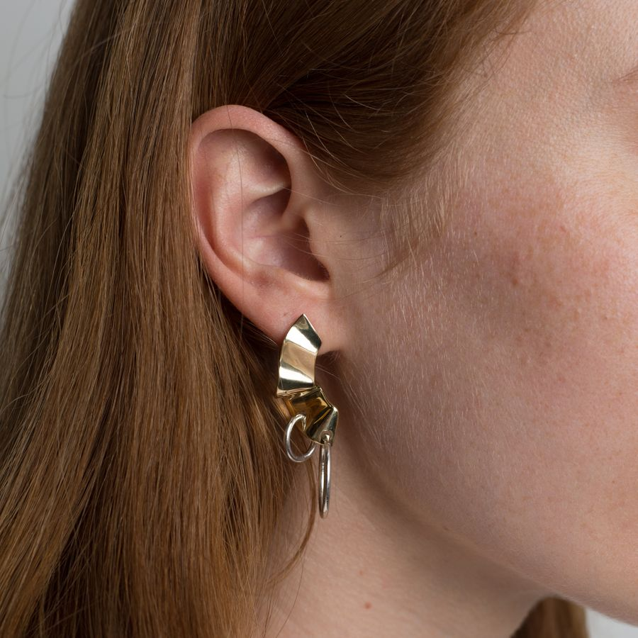 Elbe Hoop Earrings