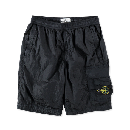 7015L1017 V0020 Nylon Metal Cargo Shorts Navy