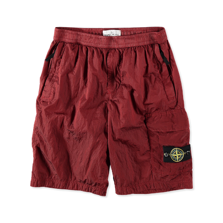7015L1017 V0055 Nylon Metal Cargo Shorts Brick
