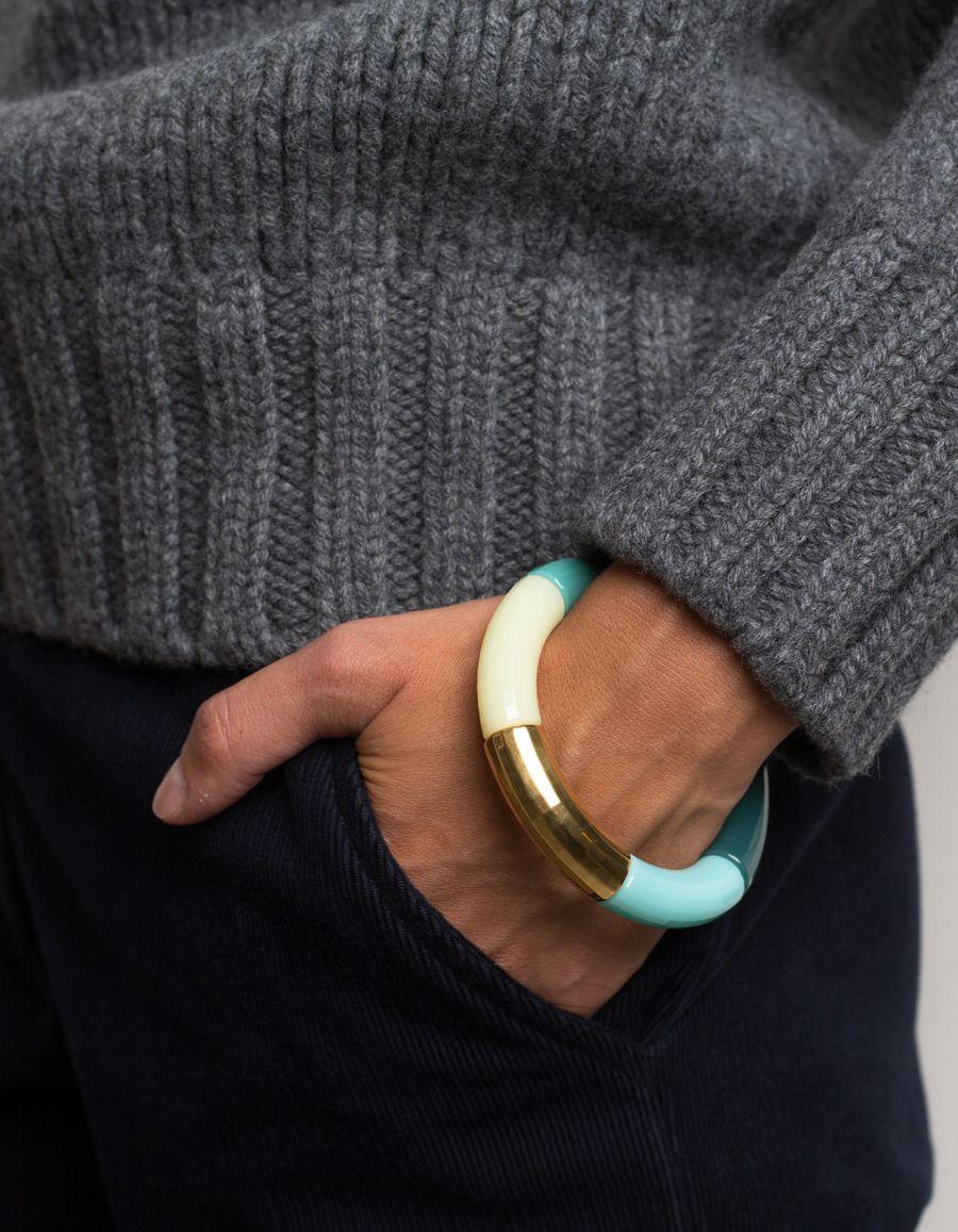 Cancan Goldpl. Bead Bracelet