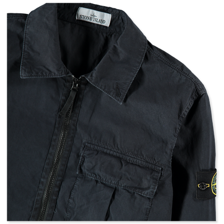 Old Effect Tela Zip Overshirt - 7115115WN - V0120