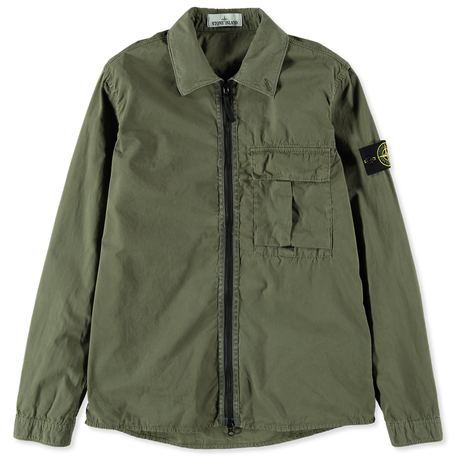 Old Effect Tela Zip Overshirt - 7115115WN - V0158
