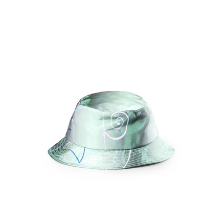 Silk Taffeta Bucket Hat