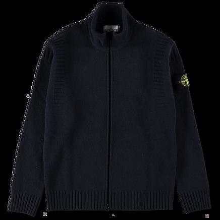 Full Zip Knit Sweater - 7115507B6 - V0020