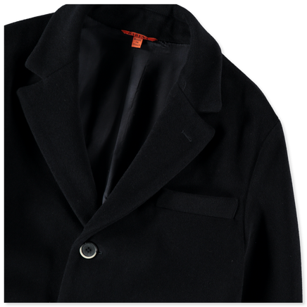 Memo Soft Melton Wool Coat
