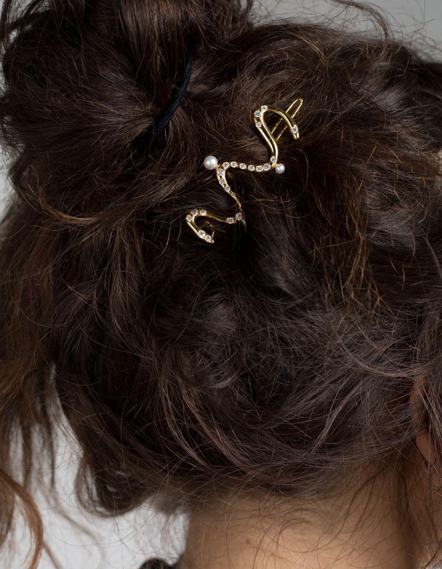 Santolina Pearl Hairclip