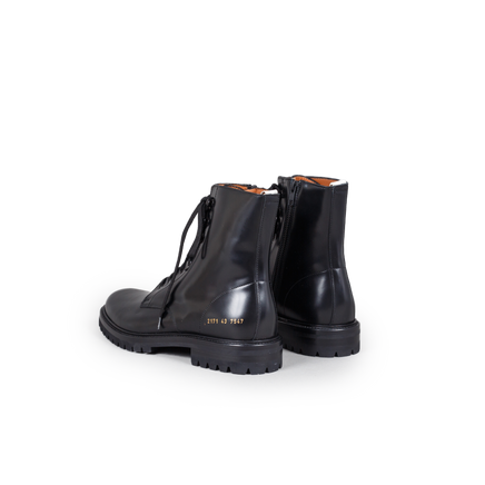 Combat Boot W/ Lug Sole