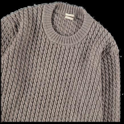 Bius Cableknit Wool Crewneck