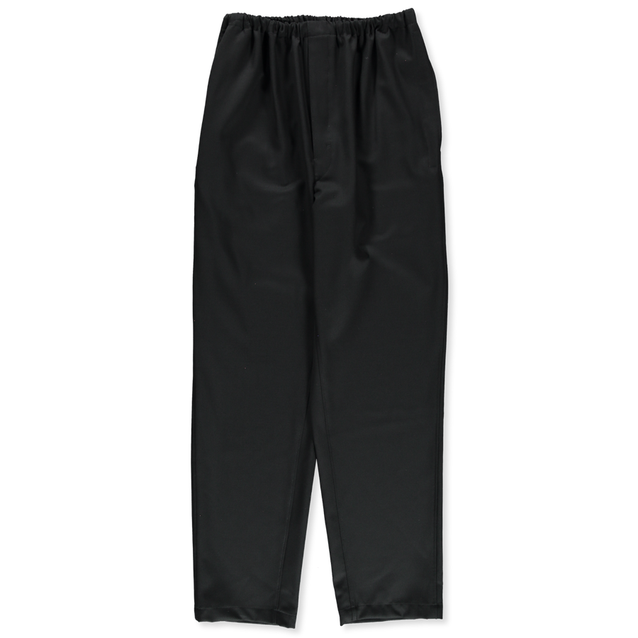 Wool Gabardine String Pants