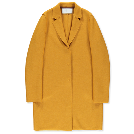 Pressed Wool Overcoat