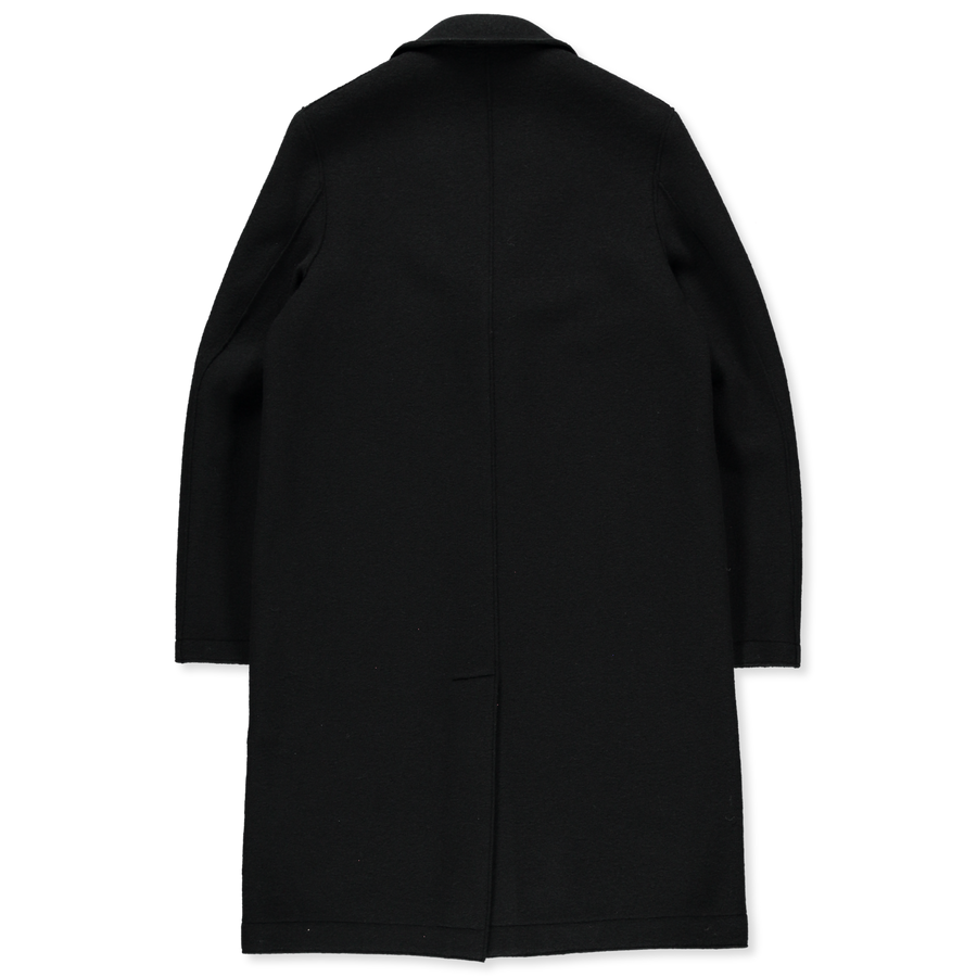Boiled Wool Overcoat