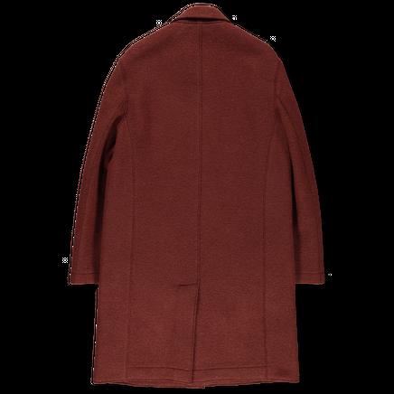 Boiled Wool Mac Overcoat
