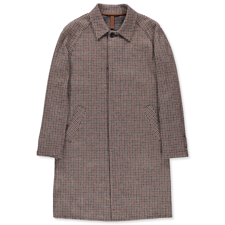 Tattersall Co/Wo Raglan Coat