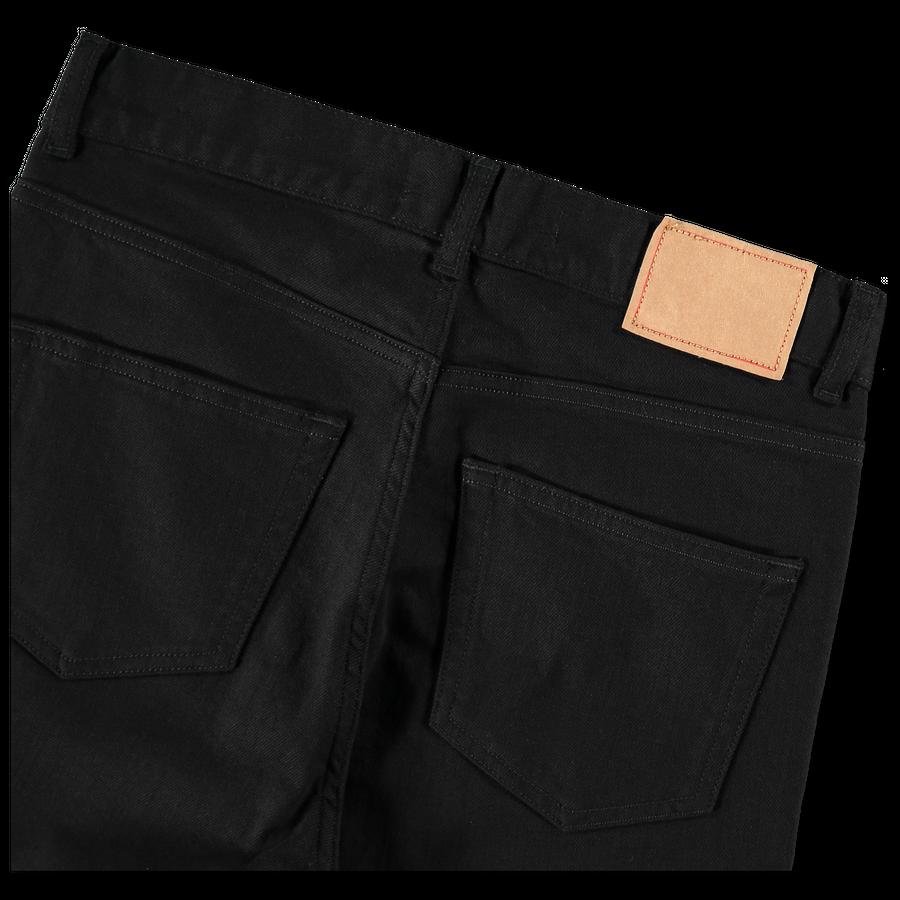 High-Waist Straight 5P Jeans