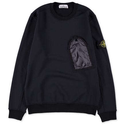 Pocket Nylon/Cotton Sweatshirt - 711564046 - V0020