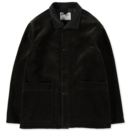 Stand Collar Corduroy Jacket