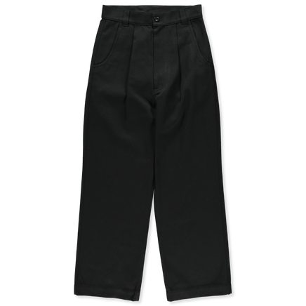 Straight Leg Co/Wo Trousers