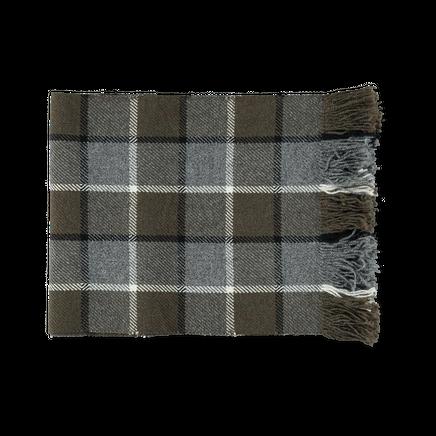 Geelong Wool Overcheck Scarf