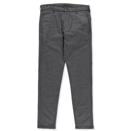 Micro Check Drawstring Trouser